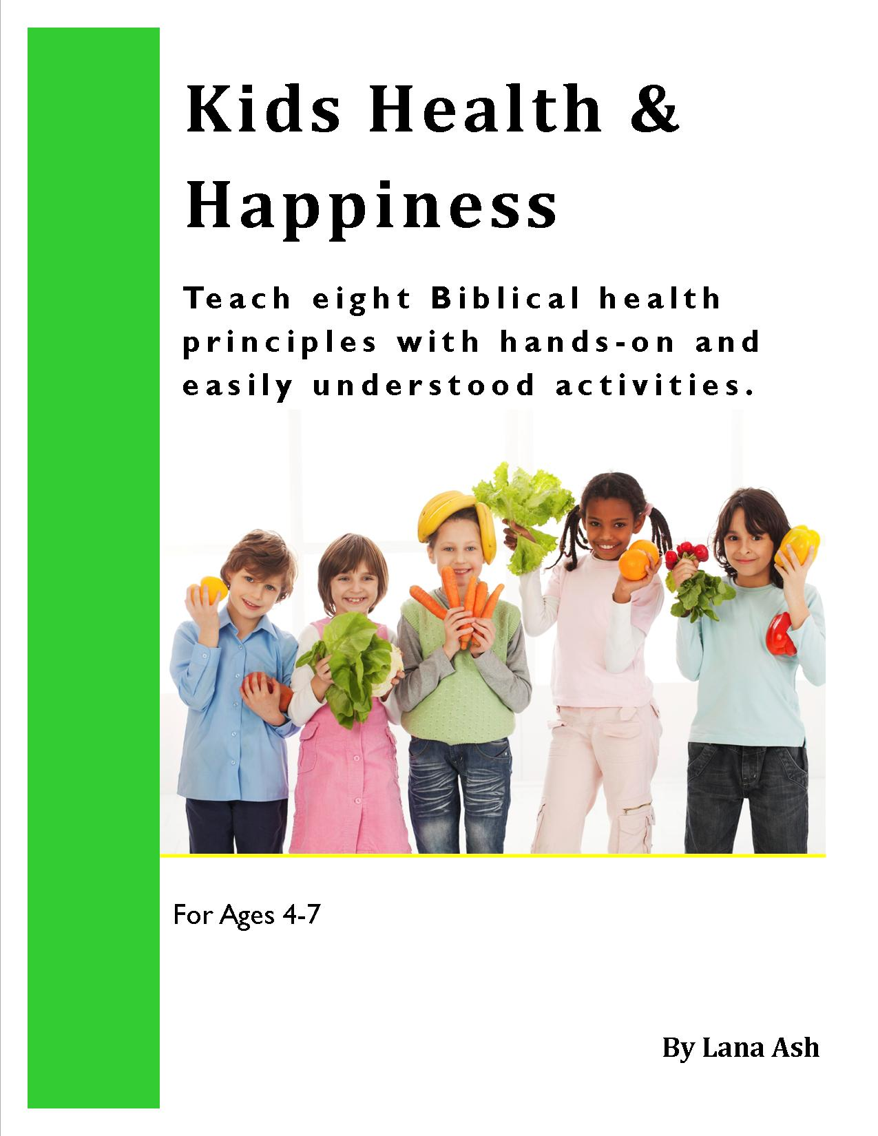 Kids Health & Happiness Book